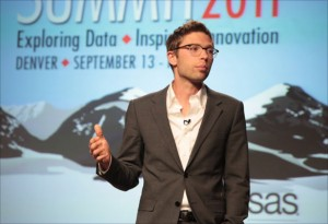 Jonah Lehrer speaks at Discovery Summit 2011