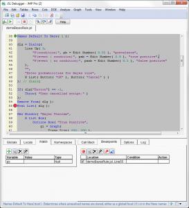 JMP 10 Debugger (Windows)