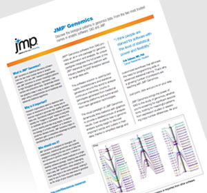 JMP Genomics 6 is available