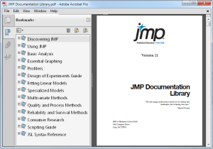 JMP Documentation Library