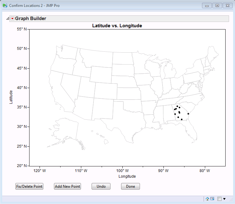 Completed Geocoding