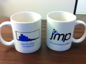 two JMP mugs