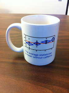 A single JMP mug