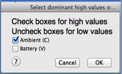 Row Selection: Select Dominant Input Box