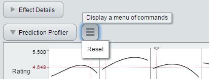 Interactive HTML Profiler reset