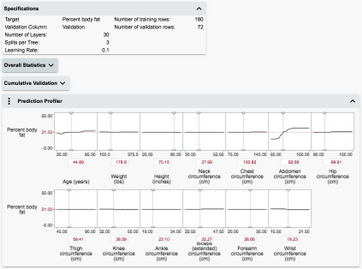This Profiler is embedded -- that is, displayed in the context of its platform report.