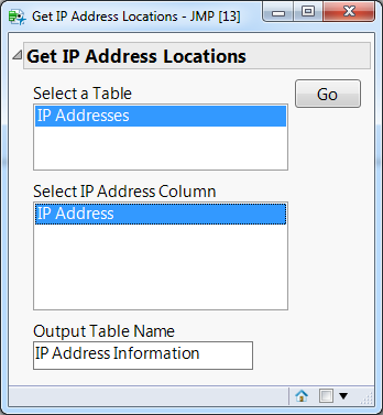 Get IP Address Locations Add-in