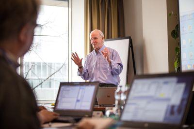 Bradley Jones will present a talk along with Ryan Lekivetz on new features in design of experiments in JMP 14.