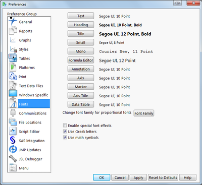 Solved: Graph builder: titles font & size - JMP User Community