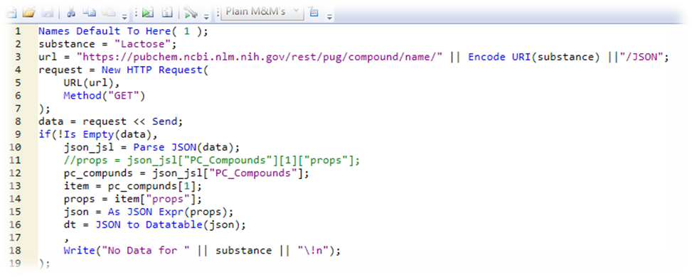 Importing Web Service Data: The New HTTP Request in JMP® 14 ( US