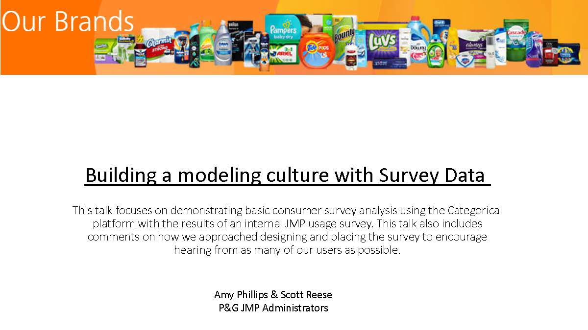 Building a Modeling Culture With Survey Data ( US 2018 …