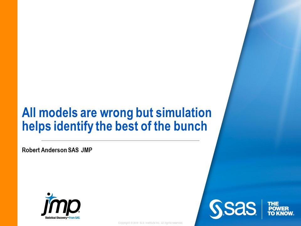All Models Are Wrong, But Simulation Helps Identify the