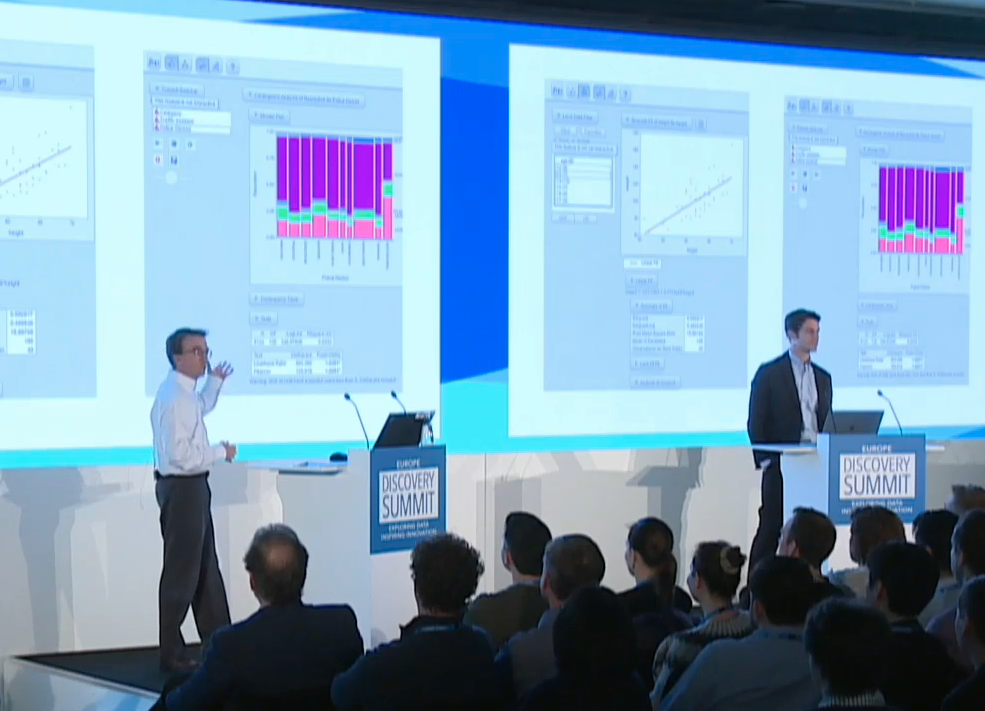 Plenary: Dan Valente and Eric Hill on JMP® Live