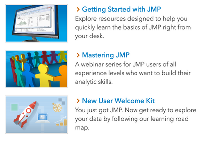 What level of learning JMP are you – and are you ready to level up?!