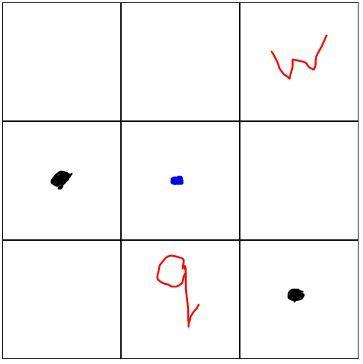 Coordinates of (-1,1)