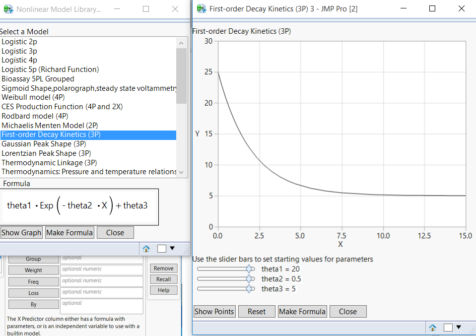 Solved: Exponential fit - JMP User Community