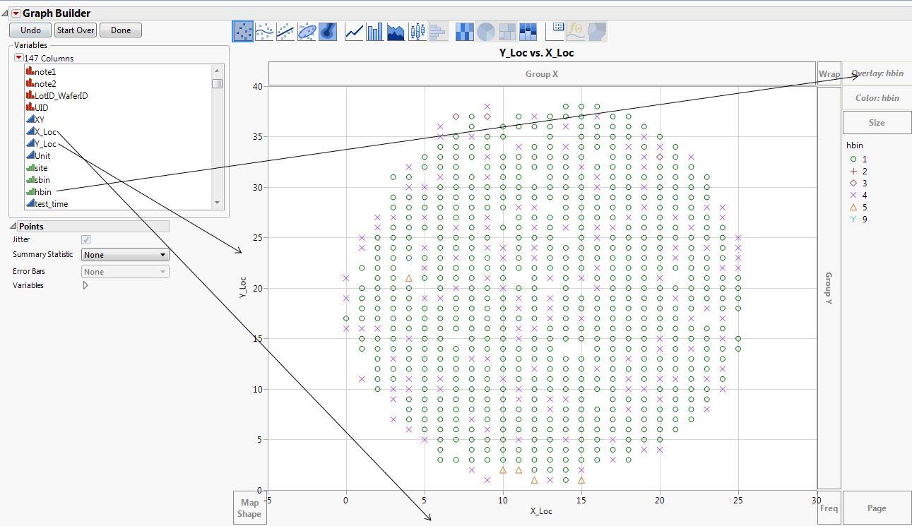 Solved: wafer map - JMP User Community