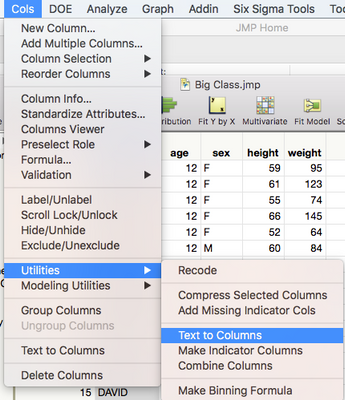 Solved: How can I split text in a column into multiple columns