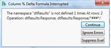 Example Error