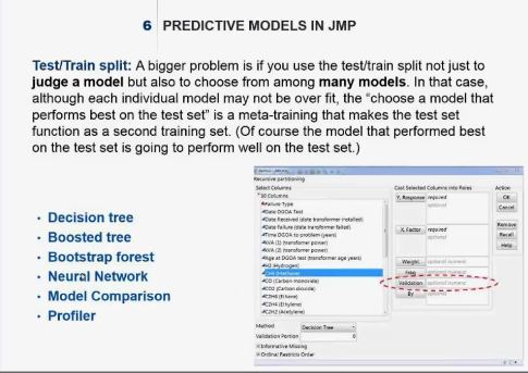 Can I identify the extent of overfitting using JMP Pro …