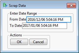 Solved: Having custom date range in SQL based on user input variable