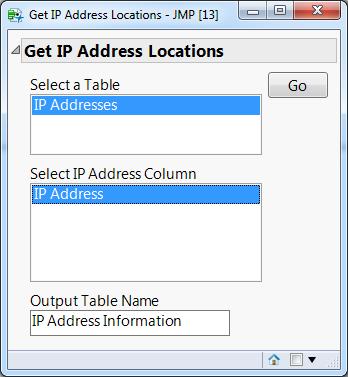 Get IP Address Locations Add-in