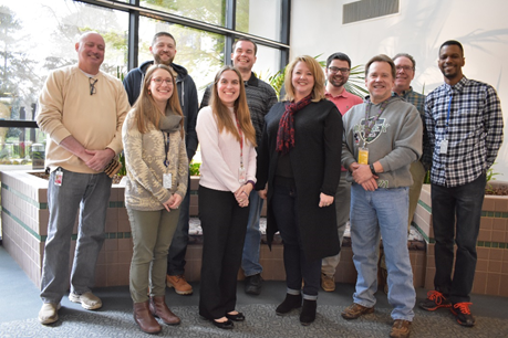 (Most of the) JMP Technical Support Team in the SAS Cary headquarters