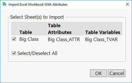 Import Workbook Dialog