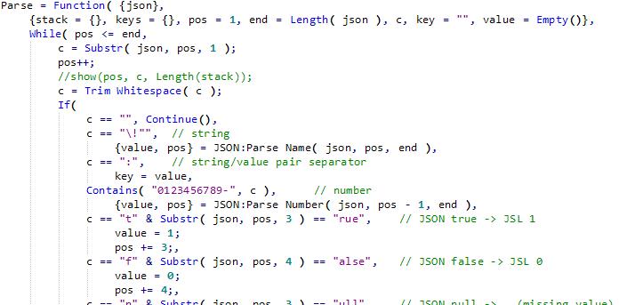 Fast JSON Parsing using Pattern Matching - JMP User Community