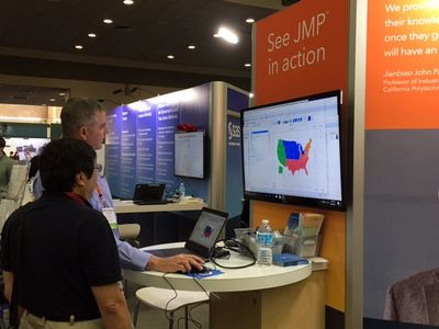 JMP is at JSM 2017. Stop by the booth and check out the presentations by JMP statisticians.