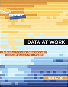 Jorge Camoes just published his first book, Data At Work is the first book.